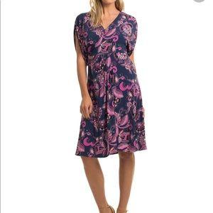 Trina Turk paisley dress size 2